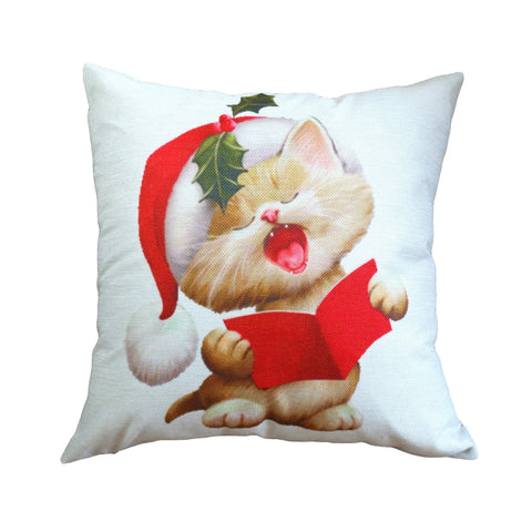 Cuddly Christmas Cuties Pillow Covers - Theone Apparel