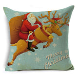 Cute Christmas Throw Pillow Covers - Theone Apparel