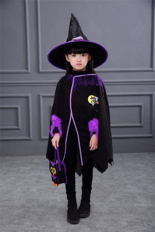 Cute Little Witch Halloween Costume for Girls - Theone Apparel