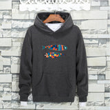 Colorful Tile Two Fish Sweater - Theone Apparel