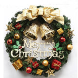 Decorative Christmas Garland Holiday Wreath - Theone Apparel
