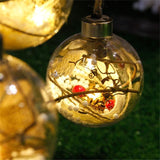 Decorative LED Christmas Tree Ornaments - Theone Apparel