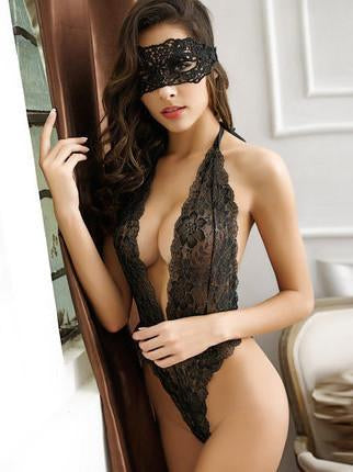 Erotic Kiss Lacy Teddy - Theone Apparel