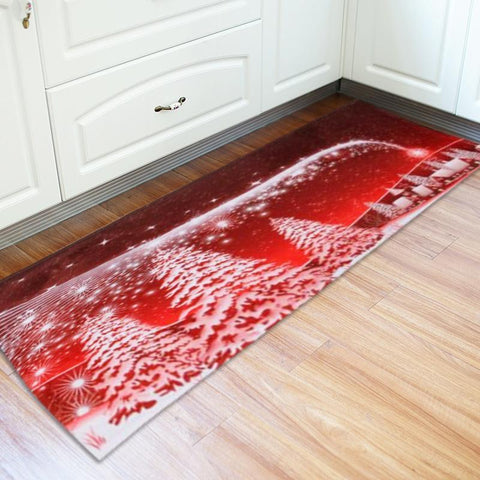 Extra Long Christmas Holiday Kitchen Mat - Theone Apparel