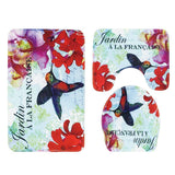 Flowers and The Sea Bath Mat Sets - Theone Apparel