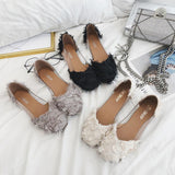 Fringe Frenzy Transparent Fashion Flats - Theone Apparel