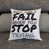Good Intentions Inspirational Pillow Covers