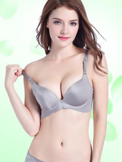 Simple Smooth Touch Pushup Bra