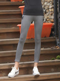 Sporty Side Stripe Gym Leggings