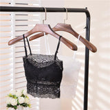 Half Shirt Black Lace Bralette - Theone Apparel