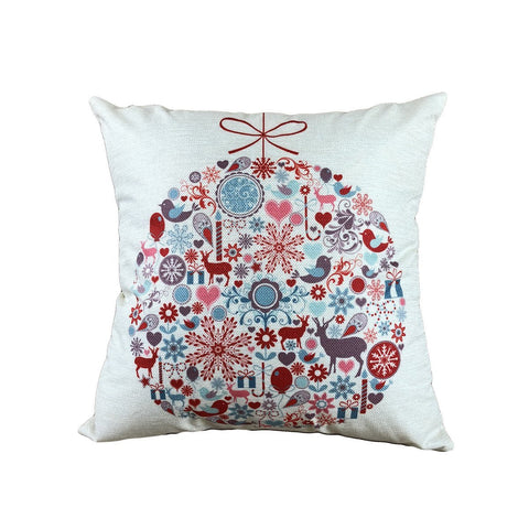 Happy Holiday Christmas Pillow Covers