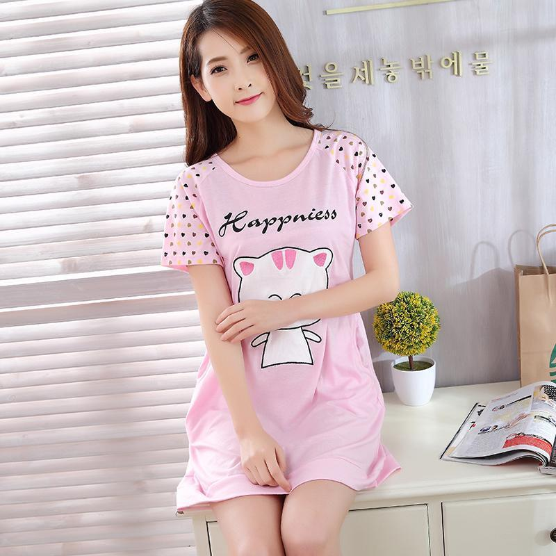 64ec448e97 Happy Kitty Nightie Sleep Shirt – THEONE APPAREL