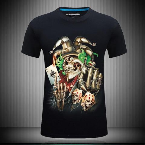 High Hand Joker Skeleton Shirt