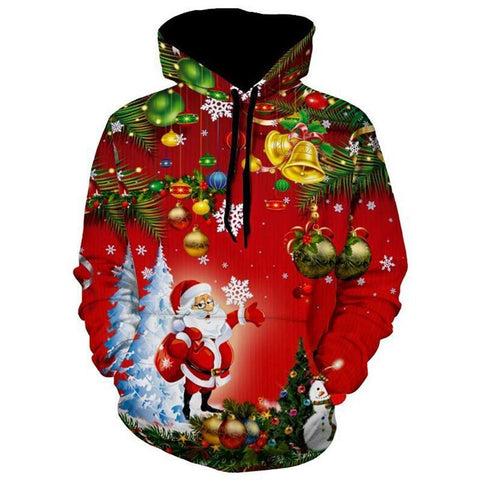 Holiday Jingle Bells Christmas Hoodie