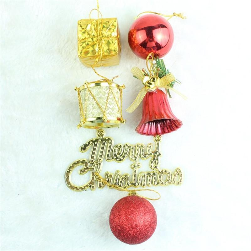 Jolly Christmas Bell Tree Decorations