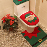 Jolly Elf Decorative Bathroom Set