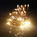 LED Copper Wire Battery Powered Lights
