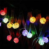 LED Garland Patio Christmas Decorations