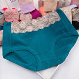 Lace Top High Rise Hipster Panty - Theone Apparel