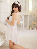 Lacy Ruffles Babydoll Nightie - Theone Apparel