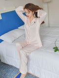 Long Sleeve Pajamas Set - Theone Apparel