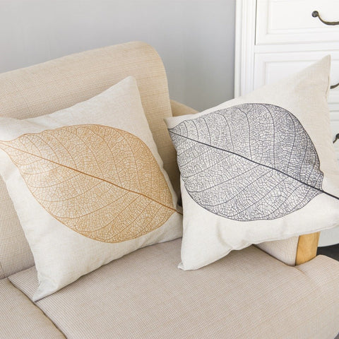 Lost in Leaves Printed Pillow Covers