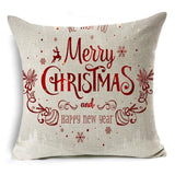 Merry Christmas Holiday Pillow Covers