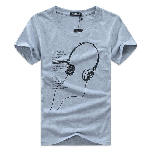 Music is Life Headphone Shirt