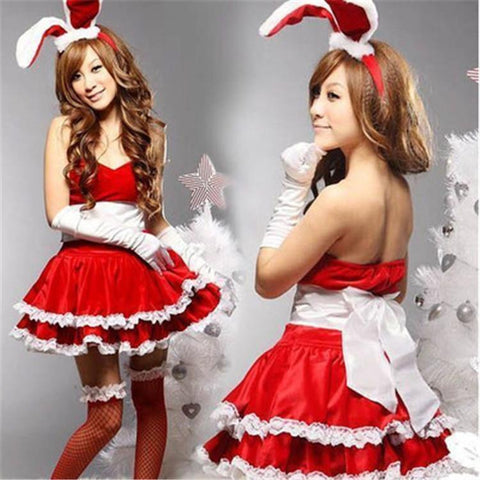 Naughty Bunny Rabbit Girls Costume