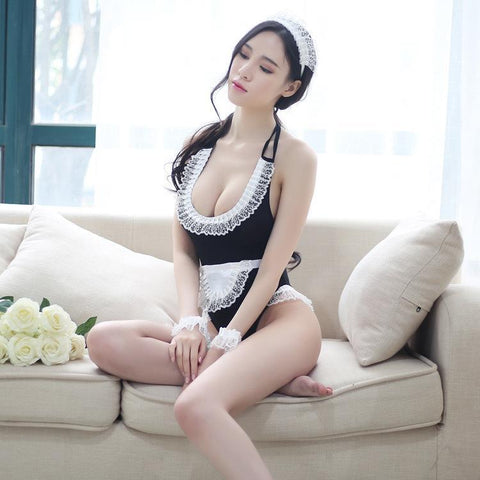 Naughty Maid Lingerie Costume Set