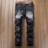 On the Money Distressed Denim Jeans