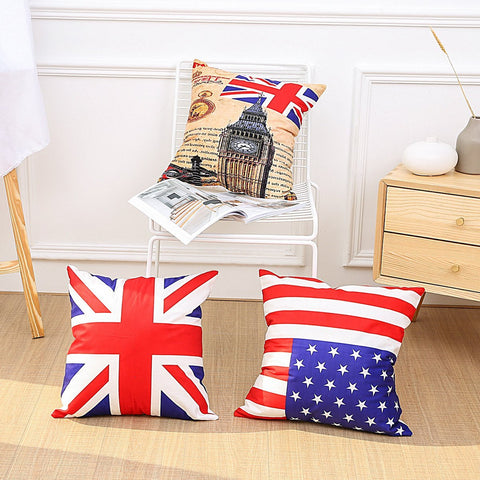 Patriotic Pride Printed Pillow Covers