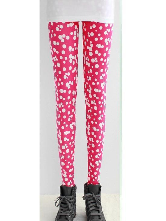 Bounds of Bubbles Printed Fashion Leggings - Theone Apparel