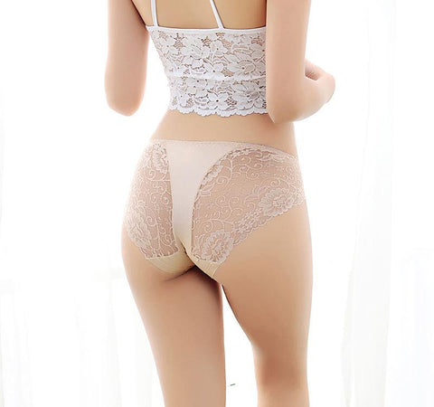 Pretty Lace Top Hipster Panty