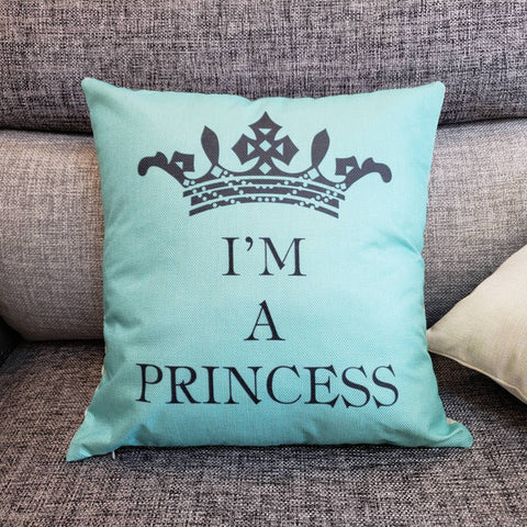 Pretty Princess Crown Pillow Case