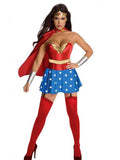 Sexy Wonderwomen Halloween Cosplay Costume