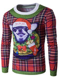 Christmas Dog Crew Neck Shirt