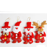 Cute Santa Christmas Tree Ornaments