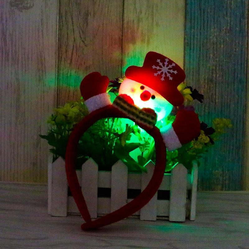 Flashing Christmas Headband for Kids