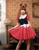 Mini Mouse Polka Dot Skirt and Top
