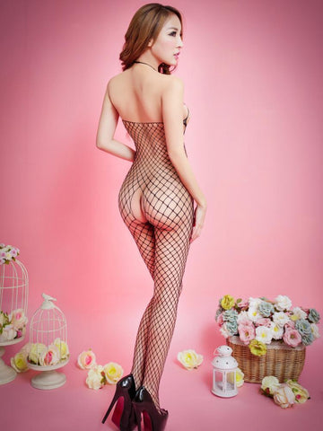 Ripped Fishnet Body Stocking - Theone Apparel