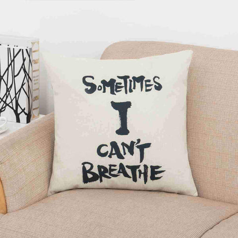 Say It All Scripted Pillow Covers