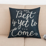 Say it With Words Pillow Covers