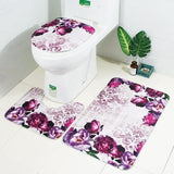 Scenes From Nature Bathroom Rug Set
