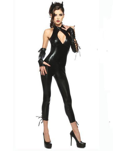 Sexy Black Angel Halloween Costume - Theone Apparel