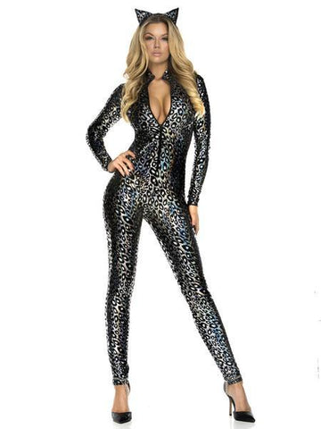 Sexy Cheetah Tight Halloween Costume - Theone Apparel