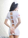 Sexy Nurse Costume Dress & Cap - Theone Apparel