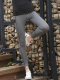 Sporty Side Stripe Gym Leggings - Theone Apparel