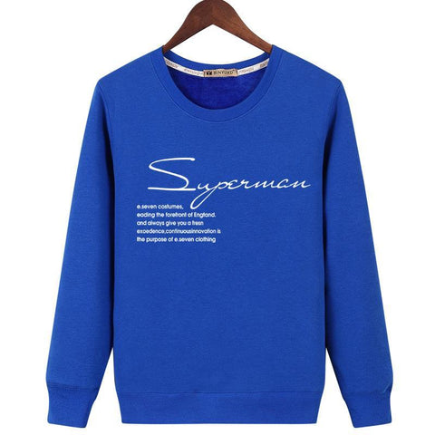 Superman Definition Pullover Sweater