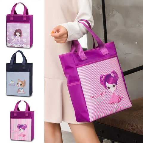 Anime Girl Padded Tote Bag - Theone Apparel